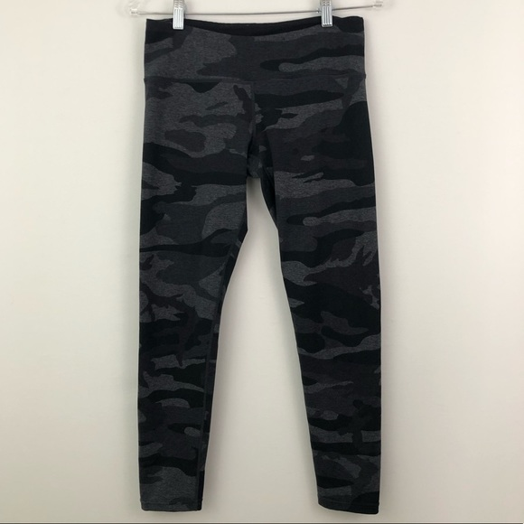 c89b5013b6bbc Tuff Athletics Pants | Camo Print 78 Capri Leggings Gray | Poshmark